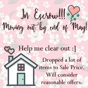 ❣❣❣MOVING SALE!❣❣❣